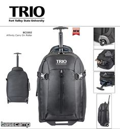 Affinity Carry On Roller project – Fort Valley State University, TRIO Student Support Services, 10/22/2014  http://proformatrioideas.com/2014/10/22/affinity-carry-on-roller/