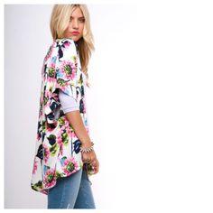 I LOVE THIS KIMONO!!Poppin Pink Kimono – Retropolitan