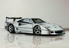 "worldofcarsaints: ""Ferrari F40 Competizione According to Top Gear it's the best super car ever. We agree. """