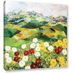 ArtWall Allan Friedlander Bewitching Twilight Gallery-Wrapped Canvas, Size: 36 x 36, White