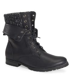 Hidden Cuff Foldover Boot from Aeropostale