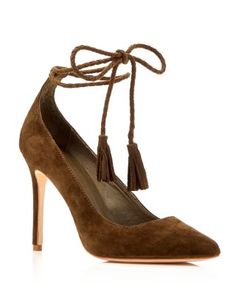 Joie Angelynn Ankle Tie Pointed Toe Pumps | Bloomingdale's