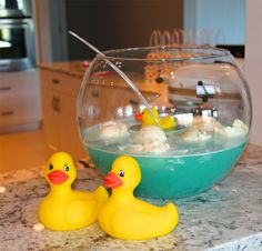 Bert + Ernie's Rubber Ducky Punch