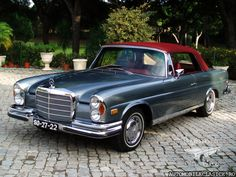 1970 Mercedes-Benz 280 SE Cabrio http://automobileclasice.ro