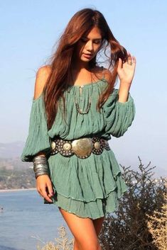 Boho chic bohemian boho style hippy hippie chic bohme vibe gypsy fashion indie folk the 70s . - The latest in Bohemian Fashion! These literal