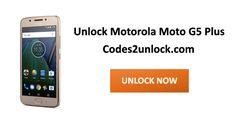 How to Carrier Unlock your Motorola Moto G5 Plus by Unlock Code so you can use with another Sim Card or GSM Network. Unlock your Motorola Moto G5 Plus fast & secure with lowest price guaranteed. Quick and easy Motorola Unlocking with step by step Unlocking Instructions.
