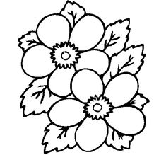 Dibujos De La Profesion Diseño Grafico | Dibujo De Flores 1 Para Pintar O  Colorear