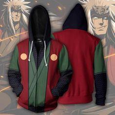 Design & Style : Naruto Hoodie - Naruto Clothing - Naruto Jacket - Naruto Zip Up Jiraya Hoodies - Jiraya Zip up Jacket From the Naruto franchise, HoodiesUni Naruto Jiraiya, Gaara, Naruto Clothing, Zip Up Hoodies, Anime Hoodies, Hoodie Sweatshirts, Anime Outfits, Hoodie Jacket, Zip Hoodie