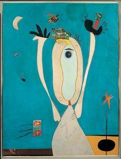 Joan Miró: Vögel und Insekten, 1938; Öl auf Leinwand. Albertina, Wien - Dauerleihgabe der Sammlung Batliner; © Joan Miro: Succession Miro/ VBK, Wien, 2007