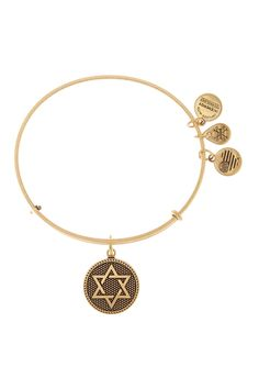 Star of David Expandable Wire Bangle