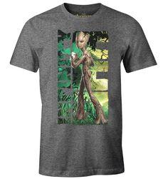T-shirt Les Gardiens de la Galaxie Vol. Dc Comics, Officiel, T Shirt, Boutique, Licence, Mens Tops, Polyester, Marvel Avengers, Fashion