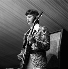 blackcatbones:    Eric Clapton at Cream's debut gig, the Windsor Jazz and Blues Festival. July 31, 1966.