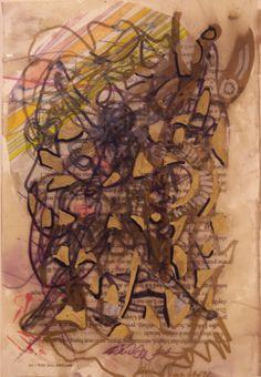 Allen Vandever; Chicago; cotemporary; new; yoga; nude; epoxy; artist; abstrac; new; collage; Chicago Artist Et9