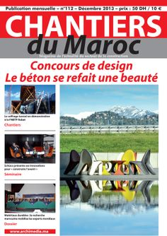 chantiers du maroc magazine mensuel de l 39 actualit du btp et du secteur de la construction. Black Bedroom Furniture Sets. Home Design Ideas