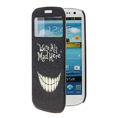 Funny Teeth Pattern Full Body Case with Window for Samsung S3 – USD $ 9.99