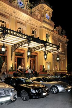 Monte Carlo Casino aka Casino Royale. Stopped in since it was right beside our Hotel de Paris.