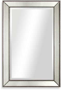 Bed Bath Beyond 30 Inch X 20 Beaded Antique Mirror On Shopstyle