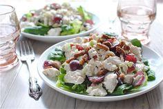Greek Yogurt Chicken Salad / Bev Cooks