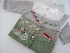Pattern baby cardigan.Spring cardigan.PC009 от AnaSwet на Etsy