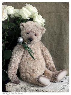 collectible teddy bear jn by anna bratkova