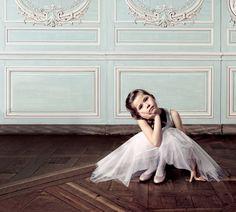 bailarina pensativa