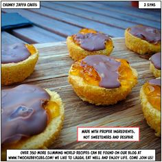 Please like and share! We attempted to make jaffa cakes for Slimming World taster nights. They taste amazing, as you'd expect, but well, we just ate them all ourselves! Ha! Remember, at www.twochubbycubs.com we post a new Slimming World recipe nearly every day. Our aim is good food, low in syns and served with enough laughs to make this dieting business worthwhile. Please share our recipes far and wide! We've also got a facebook group at www.facebook.com/twochubbycubs - enjoy!
