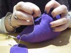 Tutorial: Simmi from Grace's Favours shows you How to Ladder Stitch - The Secret to Hidden Sewing - YouTube