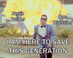 gangnam style to save this generation