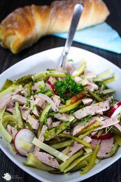 KarambaKarina's Welt: Wurstsalat mit Käse und Essiggurken von Amor&Kartoffelsack
