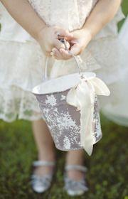 cute pail for flower girl!