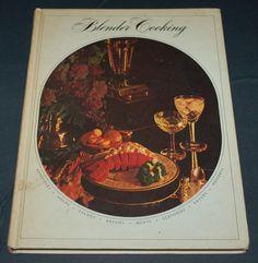 Blender Cooking Vintage Cook Book 1968 Tested Recipe Publishers TRP Recipes