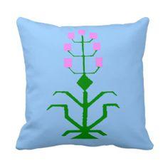 tribal geometric ethnic art pillow