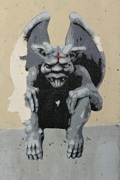 Artist: Ender rue de la Mare Paris 20 #streetart