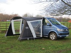Sunncamp Swift Van Canopy 260 Low Attachment height 180 to 2019 Stock Campervan Awnings, Caravan Awnings, Campervan Interior, Caravan Van, Caravan Parts, Camper Van, Roll Out Awning, Nissan, Porch Awning