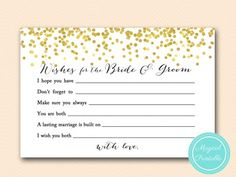 wishes-for-bride-groom-card-6x4-gold-confetti-bridal-shower