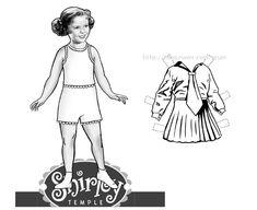종이인형 (Shirley Jane Temple) : 네이버 블로그
