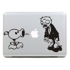 An apple for plants vs zombies decals, marked, more vivid
