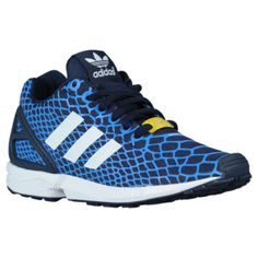 adidas Originals ZX Flux - Boys' Grade School - Bluebird/White