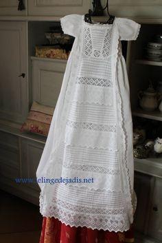 Robe de baptême ancienne