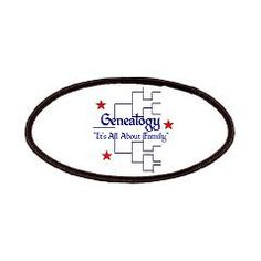 """Family Tree Chart Patches > """"It's All About Family"""" > Genealogy Store USA"""