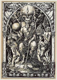 The Lord of the Sabbath, the Master Sorcerer, the Horned God, these are all titles with which the God of Witches is called in Traditional Craft.