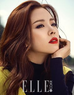 Han Ji Min for Elle Korea October 2015. Photographed by Ahn Joo Young