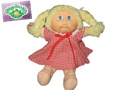 things from my past...the cabbage patch doll