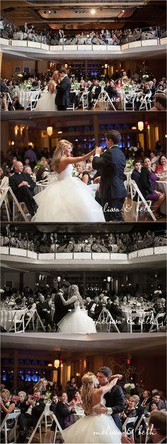 Kansas City Wedding Venue | Madrid Theatre Wedding | Kansas City Wedding Photographers #melissaandbeth #weddingphotographers #kansascity #wedding #photography #madrid #theatre #reception #firstdance