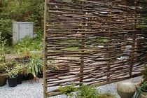 Wattle Fencing: A Cheap DIY Material for Modern Outdoor Spaces   Apartment Therapy