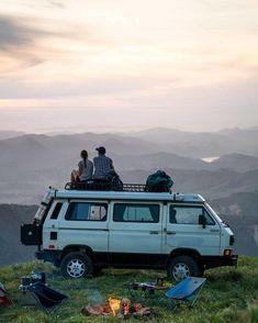 Living-In-Van-Life-Travel-Photography Van Life - Creative Vans Vw T3 Syncro, T3 Vw, Volkswagen Bus, Vw T3 Camper, Camper Van, Mini Camper, Vw Camping, Camping Ideas, Adventure Awaits