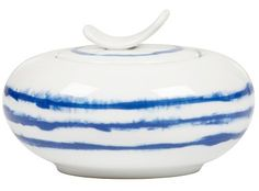 John Lewis - Designers Guild Jinshi Porcelain Covered Sugar Bowl, £19