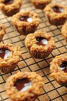 Chocolate Coconut Muffins #gluten-free #grain-free