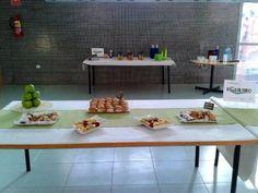 Coffee-break para Equilabo en la Universidad de Murcia.