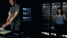 MOOG SOUND LAB | Sylvan Esso | Hey Mami